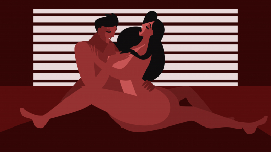 These sex positions will have romantic couples orgasm.