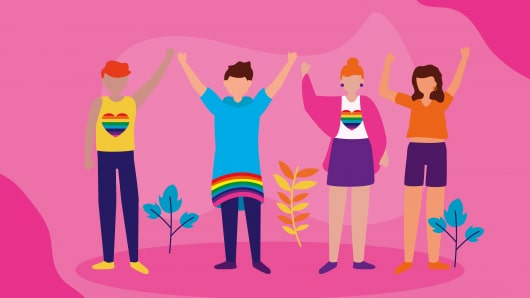 """The words """"queer"""" and """"questioning"""" amplify the voices of many marginalized identities within the LGBTQ+ communities"""