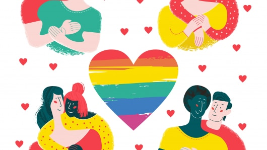 The word gay was used to mean happy, and the term wasn't connected to sexuality until the 1600s. Now, gay is a socially acceptable word for homosexual people of any gender.